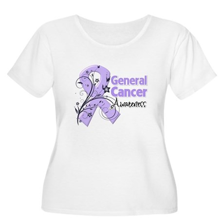 General Cancer Awareness Women's Plus Size Scoop N