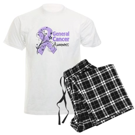 General Cancer Awareness Men's Light Pajamas