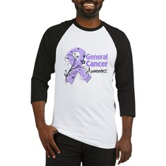 General Cancer Awareness Baseball Jersey