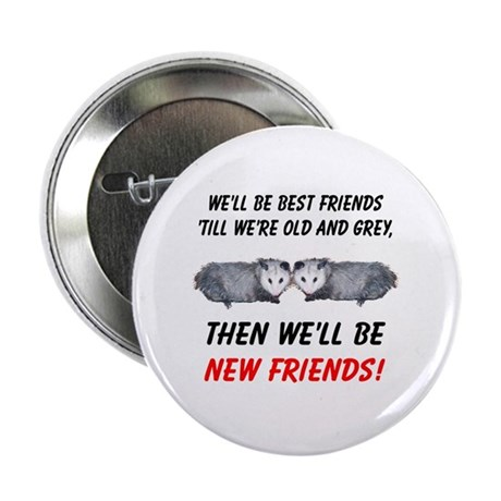 "Old New Possum Friends 2.25"" Button (100 pack)"