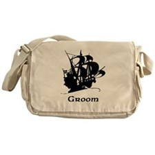 Groom Pirate Ship Messenger Bag