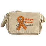 Multiple Sclerosis Awareness Messenger Bag