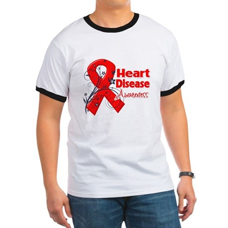 Heart Disease Awareness Ringer T