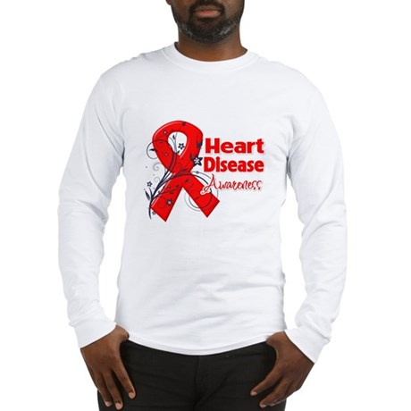 Heart Disease Awareness Long Sleeve T-Shirt