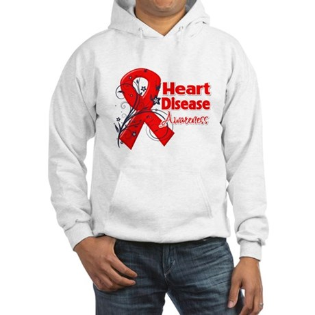 Heart Disease Awareness Hooded Sweatshirt