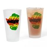 Zimbabwe Drinking Glass