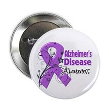 "Alzheimers Disease Awareness 2.25"" Button (100 pac"