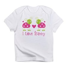 I Love Grammy Ladybug Infant T-Shirt