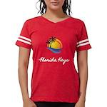 Kaliedo Women's V-Neck Dark T-Shirt
