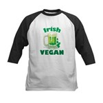 Irish Vegan Kids Baseball Jersey