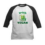 Irish Vegan Kids Baseball Jersey
