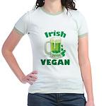 Irish Vegan Jr. Ringer T-Shirt