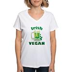 Irish Vegan Women's V-Neck T-Shirt