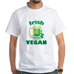 Irish Vegan White T-Shirt