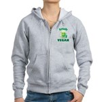 Irish Vegan Women's Zip Hoodie