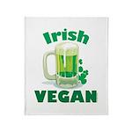 Irish Vegan Throw Blanket