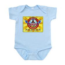 Wisconsin Beer Label 16 Infant Bodysuit
