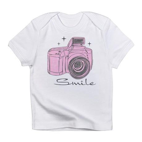 Camera Smile Infant T-Shirt
