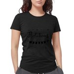 ROSES Women's Dark T-Shirt