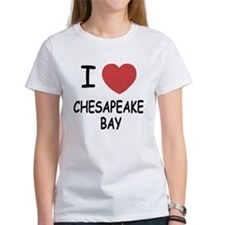 I heart chesapeake bay Tee