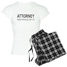 The Proud Attorney Pajamas