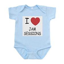 I heart jam sessions Infant Bodysuit