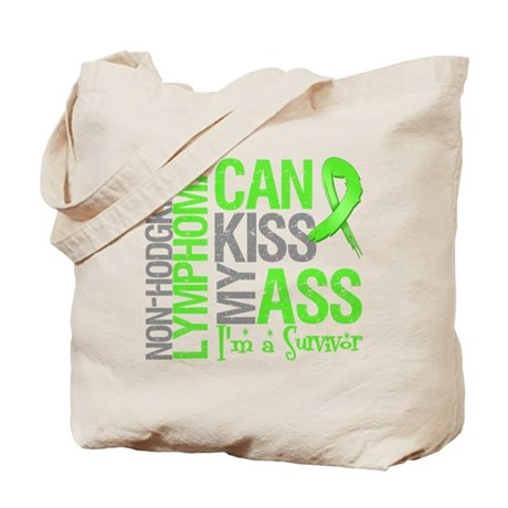 NH Lymphoma Can Kiss Ass Tote Bag