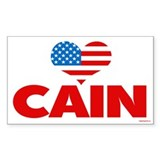 Heart Cain Decal