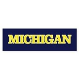 Michigan Bumper Bumper Sticker