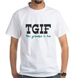 TGIF This Grandpa is Fun Shirt
