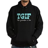 TGIF This Grandpa is Fun Hoodie