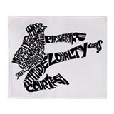 LIFE SKILLS KICKER Throw Blanket