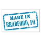 MADE IN BRADFORD Decal