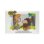 Tarzan MD - Smoking Twigs Rectangle Magnet