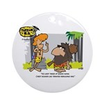 Tarzan MD - Smoking Twigs Ornament (Round)