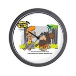 Tarzan MD - Smoking Twigs Wall Clock