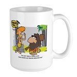 Tarzan MD - Smoking Twigs Large Mug