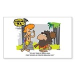 Tarzan MD - Smoking Twigs Sticker (Rectangle)