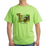 Tarzan MD - Smoking Twigs Green T-Shirt
