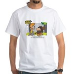 Tarzan MD - Smoking Twigs White T-Shirt
