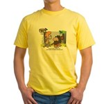 Tarzan MD - Smoking Twigs Yellow T-Shirt