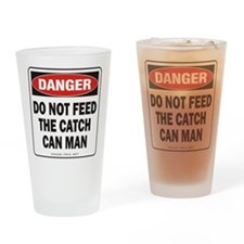 Catch Can Man Drinking Glass