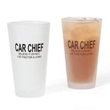 Car Chief Drinking Glass