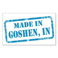 MADE IN GOSHEN Decal