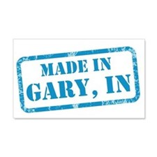 MADE IN GARY 22x14 Wall Peel