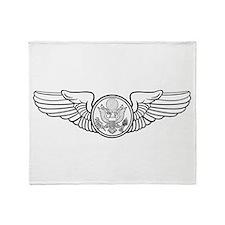 Aircrew Wings Throw Blanket