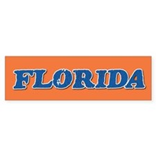 Florida Vintage Bumper Bumper Sticker