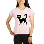Cat With Green Eyes Performance Dry T-Shirt