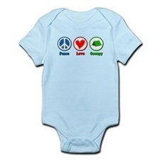 Peace Love Occupy Protest Infant Bodysuit