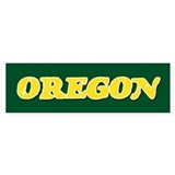 Oregon Vintage Bumper Bumper Sticker
